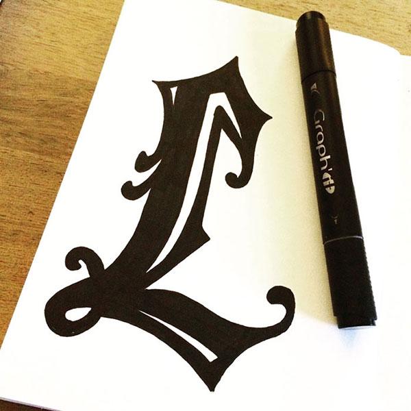 Lettre L - Le Studio - 13h14