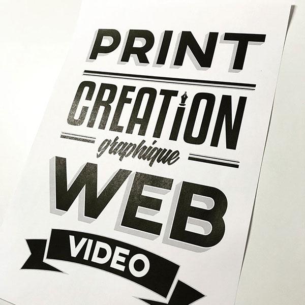 Print Création Graphique - Le Studio - 13h14
