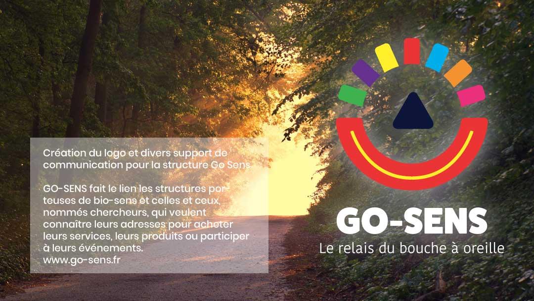Go Sens - Création d'un logo