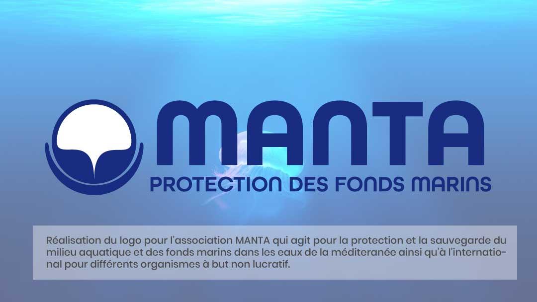 Manta - Création d'un logo