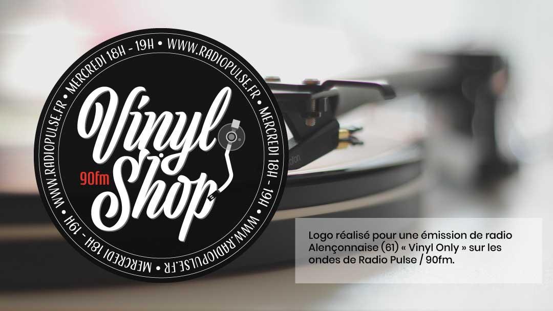 Vinyl Shop - Réalisations - 13h14