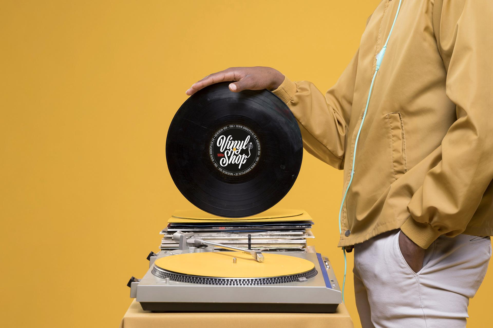 Vinyl Shop - Création d'un logo