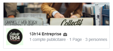 Compte Business Manager du Collectif 13h14
