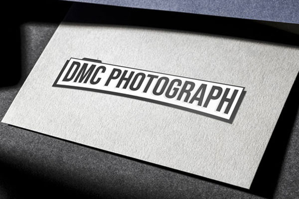 DMC Photograph - Création logo et carte de visite