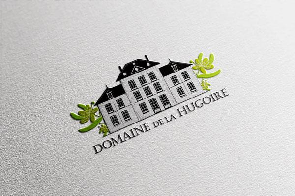 Domaine de la Hugoire - Création d'un logo
